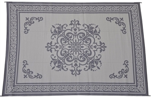 Hard to tell color,is this Reversible Patio Mats 508 Medallion Fieldstone gray??